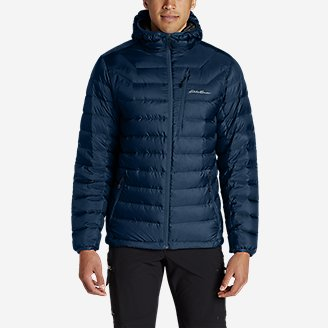 Thumbnail View 3 - Men's Downlight® StormDown® Hooded Jacket