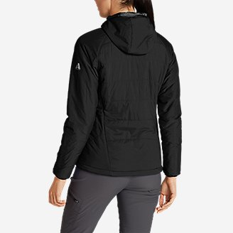 Thumbnail View 2 - Women's IgniteLite Flux Stretch Hooded Jacket