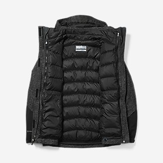 Thumbnail View 2 - Women's Powder Search 2.0 3-In-1 Down Jacket
