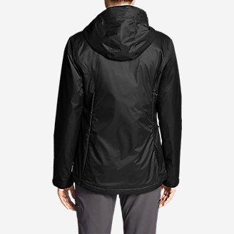 Thumbnail View 2 - Women's Cloud Cap Insulated Rain Jacket