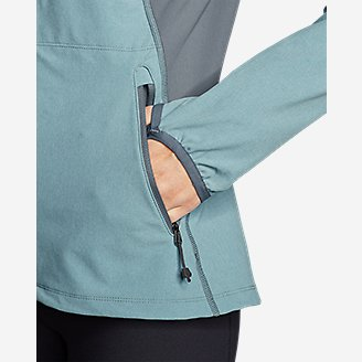 Thumbnail View 3 - Women's Sandstone 2.0 Soft Shell Jacket