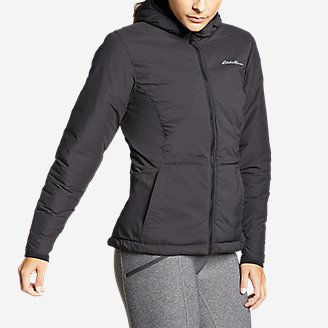 Thumbnail View 3 - Women's IgniteLite Stretch Reversible Hooded Jacket