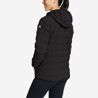 Thumbnail View 3 - Women's MicroTherm® FreeFuse™ Stretch Down Hooded Jacket