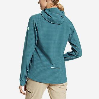 Thumbnail View 2 - Women's Sandstone Backbone Grid Hoodie