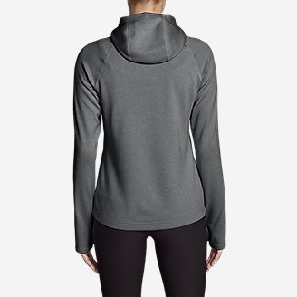 Thumbnail View 2 - Women's High Route Fleece Hoodie