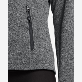 Thumbnail View 3 - Women's High Route Fleece Hoodie