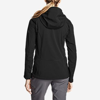 Thumbnail View 2 - Women's Sandstone Shield Hooded Jacket