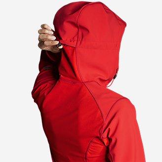 Thumbnail View 2 - Women's Sandstone Shield Hooded Jacket