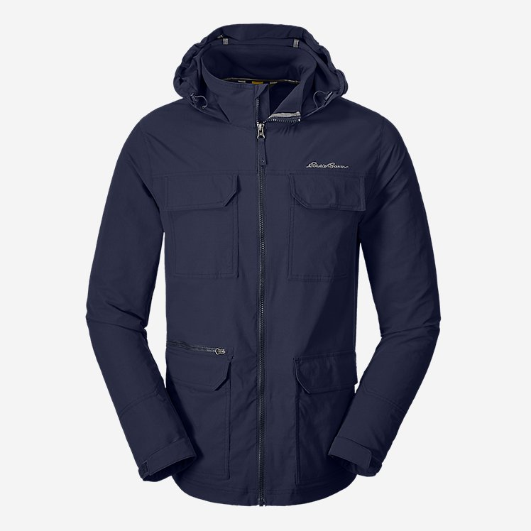 Men's Atlas Stretch Hooded Jacket large version