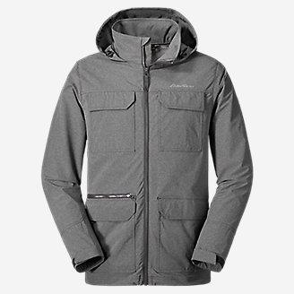 Thumbnail View 1 - Men's Atlas Stretch Hooded Jacket