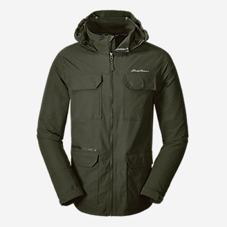 Thumbnail View 1 - Men's Atlas Stretch Hooded Jacket