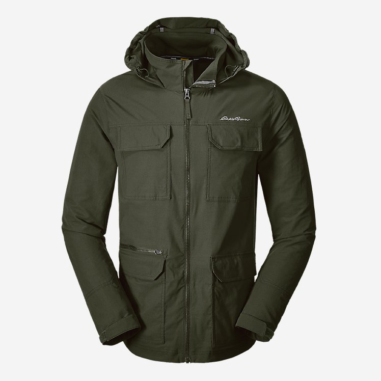 Men's Atlas Stretch Hooded Jacket large version