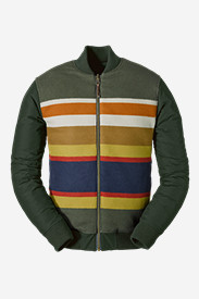 Men's Eddie Bauer X Pendleton Reversible 1936 Skyliner Model Jacket