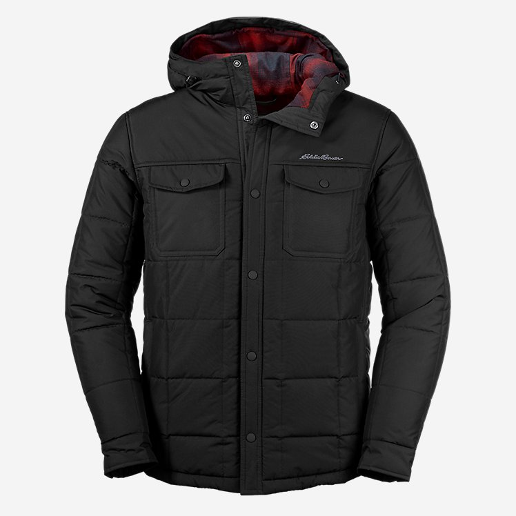 Men's Boundary Pass Hooded Snap Jac large version