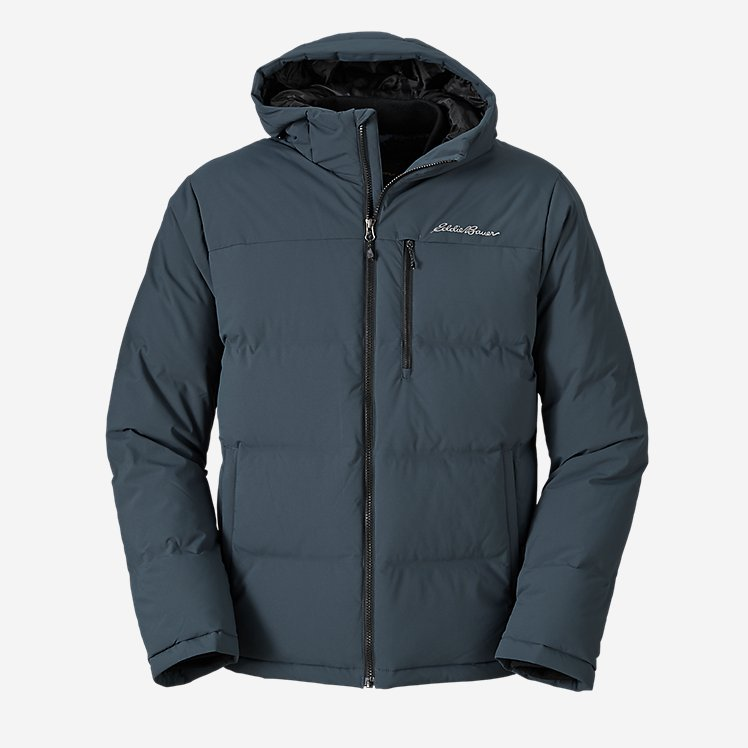 Men's Glacier Peak Seamless Stretch Down Hooded Jacket large version
