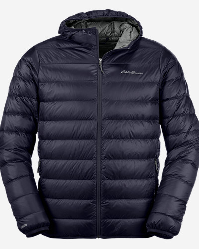 Men's Cirrus Lite Down Hooded Jacket by Eddie Bauer