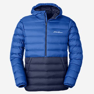 Deals on Eddie Bauer Mens CirrusLite Down Pullover