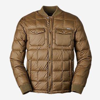 Eddie Bauer Stratuslite Down Snap Men's Jacket