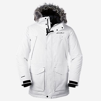 Eddie Bauer Superior Down Parka (White Only) $140.00, Other Select Jackets 60%