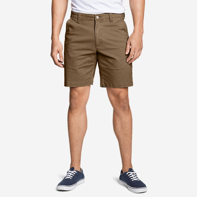 "Men's Legend Wash Flex Chino 9"" Shorts large version"