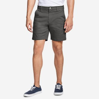 "Thumbnail View 1 - Men's Legend Wash Flex Chino 7"" Shorts"