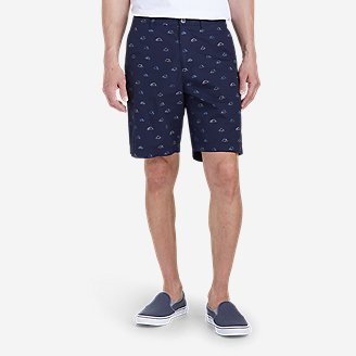 "Thumbnail View 1 - Men's Camano 9"" Shorts - Print"