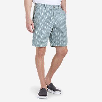 """Thumbnail View 1 - Men's Camano 9"""" Shorts - Print"""