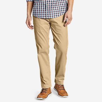Thumbnail View 1 - Men's Flex Wrinkle-Resistant Sport Chinos - Relaxed
