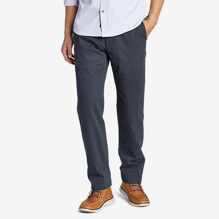 Men's Flex Wrinkle-Resistant Sport Chinos - Relaxed large version