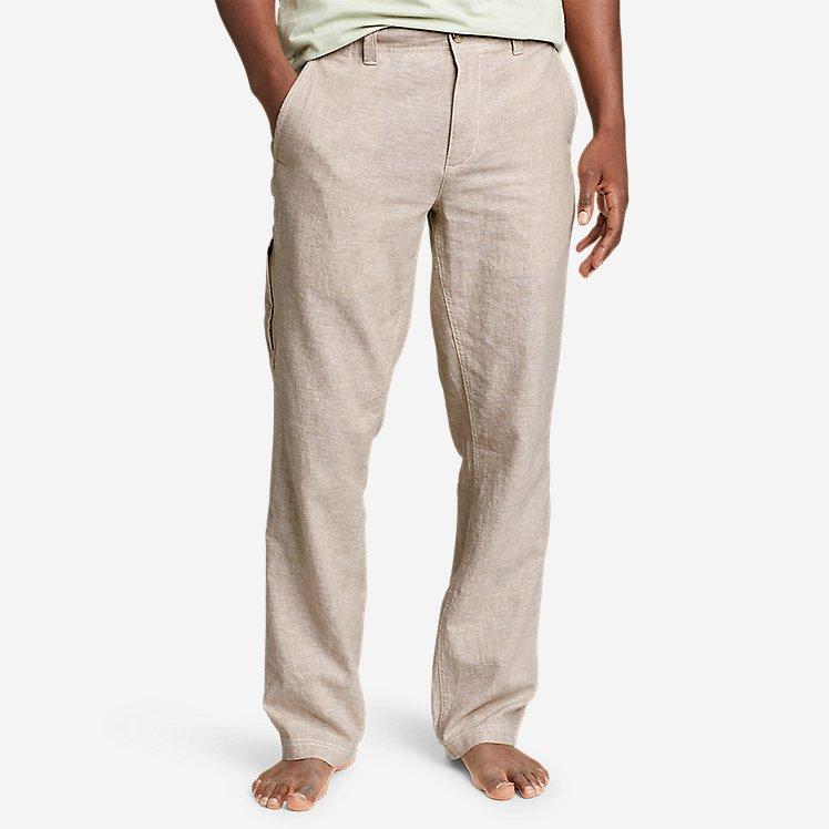 Men's Larrabee Linen-Blend Pants large version