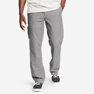 Thumbnail View 1 - Men's Larrabee Linen-Blend Pants