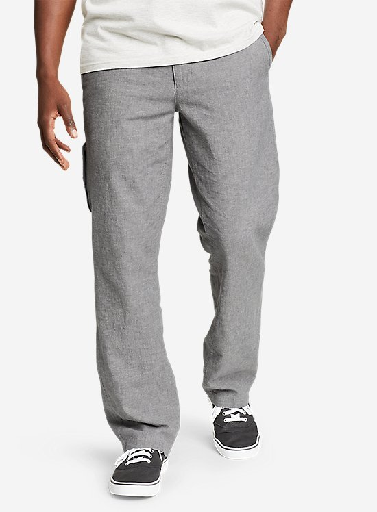 Larrabee Linen-Blend Pants
