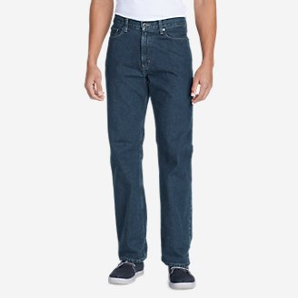 Thumbnail View 1 - Men's Relaxed Fit Essential Jeans