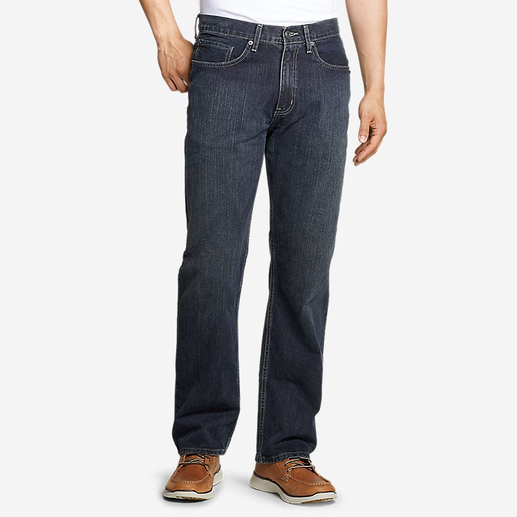 Men's Authentic Jeans - Relaxed Fit large version