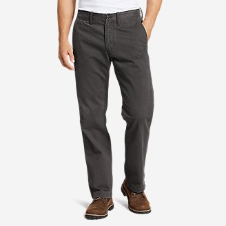 Thumbnail View 1 - Men's Legend Wash Chino Pants - Classic Fit