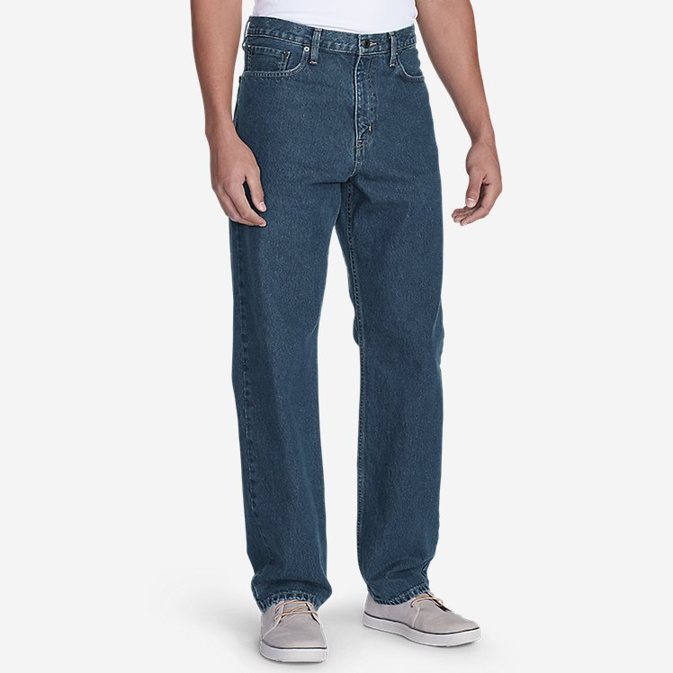 Traditional Fit Essential Jeans large version