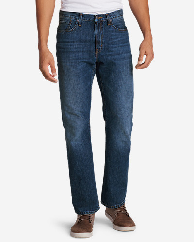 Eddie Bauer Men's Authentic Jeans - Straight Fit