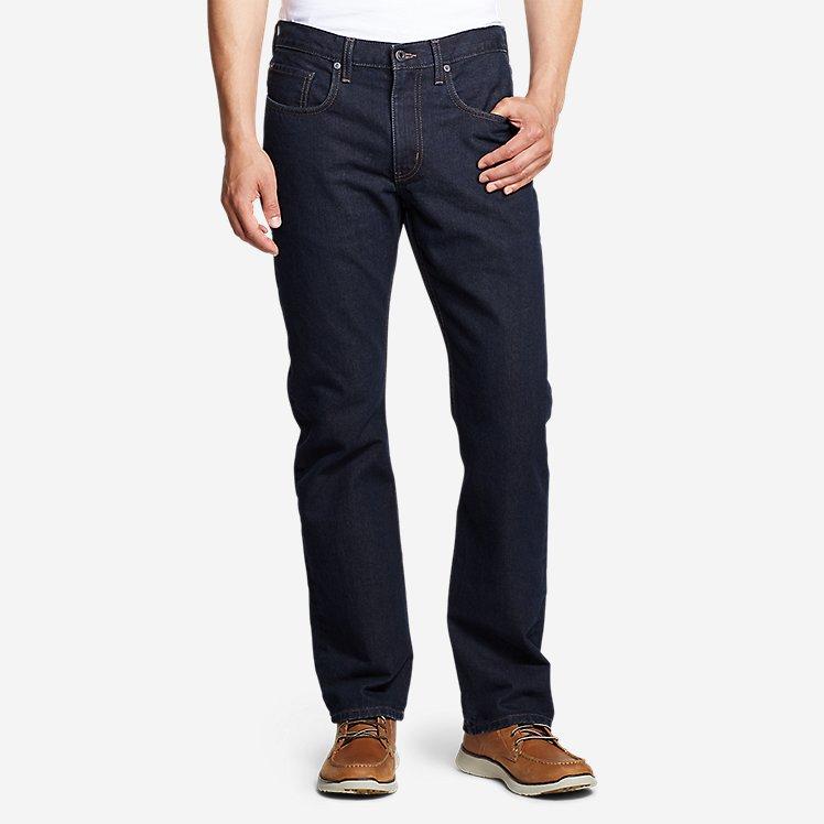 Men's Authentic Jeans - Straight Fit large version
