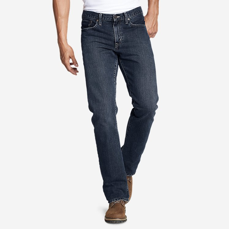 Men's Authentic Jeans - Straight Fit large version