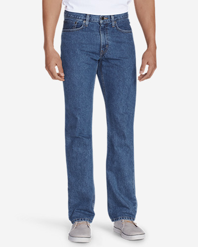 Eddie Bauer Straight Fit Essential Jeans