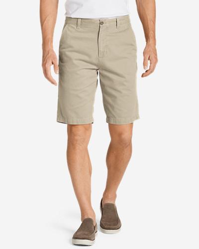 Eddie Bauer Men's Legend Wash 11 Inch  Chino Shorts - Solid