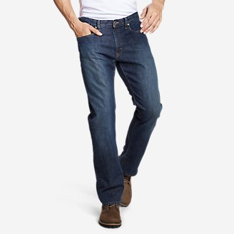Thumbnail View 1 - Men's Flex Jeans - Straight Fit