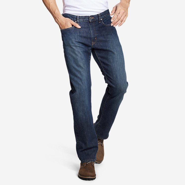 Men's Flex Jeans - Straight Fit large version