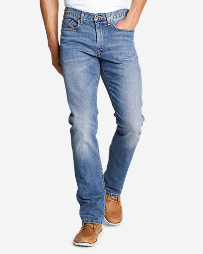 Eddie Bauer Men's Flex Jeans - Straight Fit