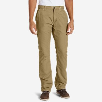 Thumbnail View 1 - Men's Lined Canvas Mountain Pants
