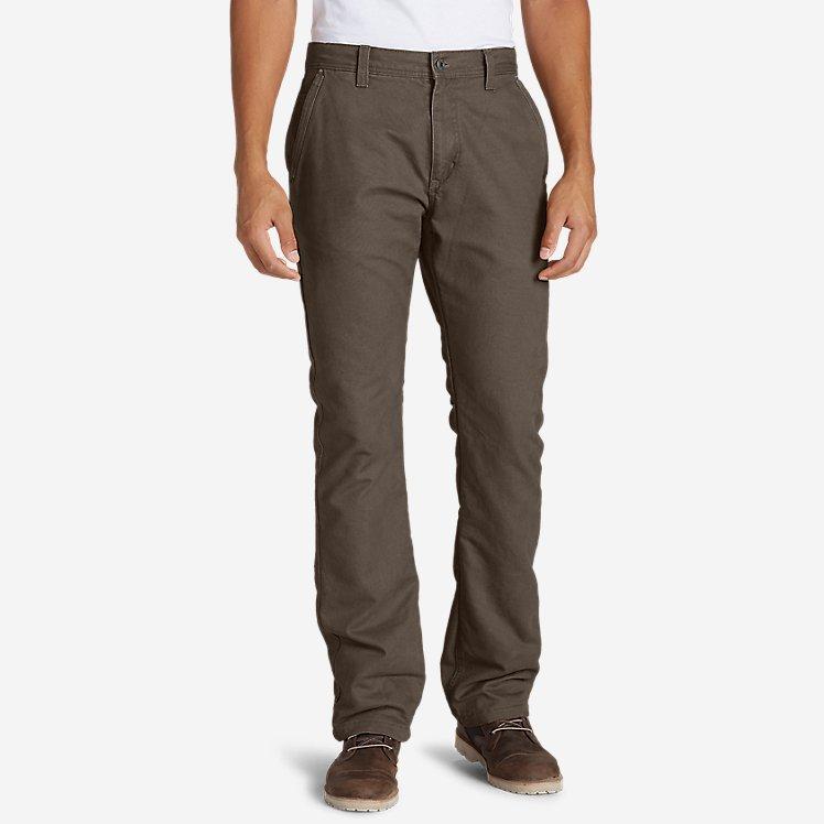 Men's Lined Canvas Mountain Pants large version