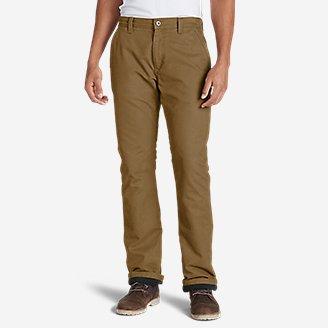 Thumbnail View 1 - Men's Lined Canvas Mountain Pants