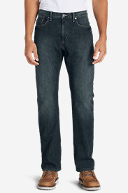 Men's Fleece-Lined Jeans - Straight Fit