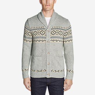 Thumbnail View 1 - Men's Snowbridge Cardigan