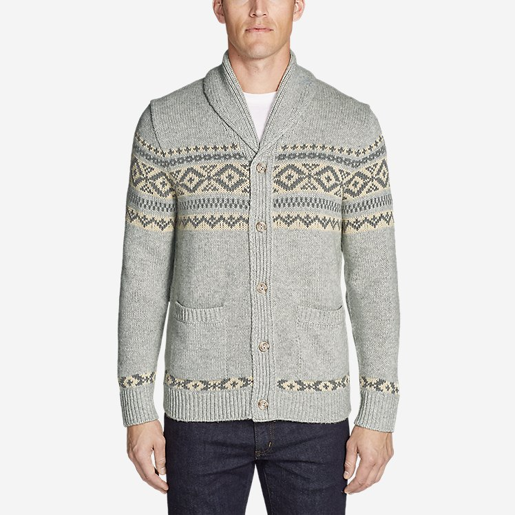 Men's Snowbridge Cardigan large version